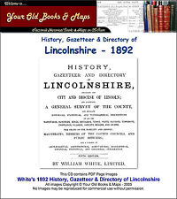Directory of Lincolnshire 1892 CDROM