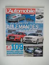 L'AUTOMOBILE magazine 746 LANCIA DELTA 1.6-VW SCIROCCO-ALFA MI TO-AUDI TT COUPE