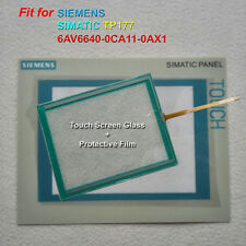 for SIEMENS TP177 6AV6640-0CA11-0​AX1 Touch Screen Glass + Protective Film