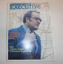 Government Executive Magazine Thompson Of Illinois February 1980 FAL FAA 102516R
