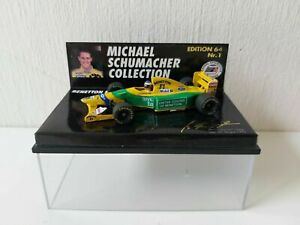Minichamps 1/64 Benetton Ford B192 M. Schumacher - 1st Win Spa - MSC641100