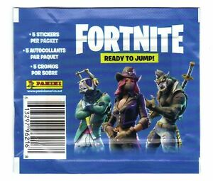 Fortnite Ready to Jump! Panini Sticker Pack (5 Stickers)