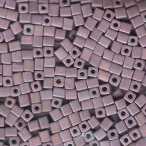 20 Grams Miyuki 4mm Square Cube Glass Knitting Stringing Seed Beads U-Pick