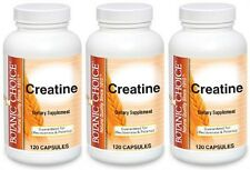 CREATINE 4200MG MUSCLE ENERGY ENDURANCE ATHLETES DIETARY SUPPLEMENT 360 CAPSULES