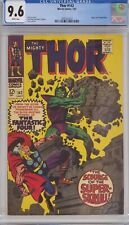 THOR #142 CGC 9.6 SUPER-SKRULL APPEARANCE WHITE PAGES