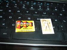 1949 Topps Magic Photos Hocus Focus Gum FULL Pack with Gum Card + Wrapper Boxer