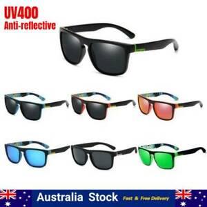 Polarized Sunglasses Men Women Retro Square Sport Driving Cycling Fishing AU