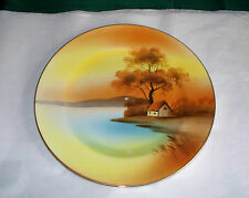 """NORITAKE CHINA TREE IN THE MEADOW SALAD PLATE 7.5"""" RED MARK SCUFF IN THE PAINT"""
