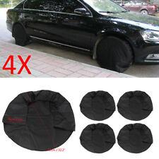 4pcs Black Wheel Tire Tyre Cover For RV Truck Car Camper Trailer 32'' Diameter