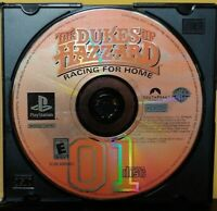 Dukes of Hazzard Racing For Home - Sony PlayStation 1 ps1 Rare Tested  Bandai