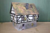 1650 Haus in Kaltenburg Feinschmiede Eckbert Kratzer, zu 7cm Sammelfiguren