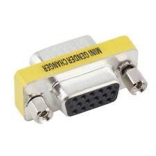VGA/SVGA 15 pin Port Saver VGA Adapter Female to VGA Male D-sub GO