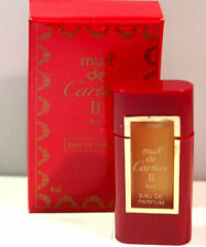 Must De Cartier ii Eau de Parfum 4 ML/0.13OZ Original Formula New In Box RARE