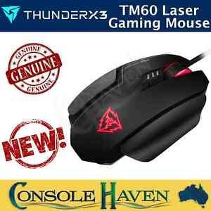 ThunderX3 TM60 USB Laser Gaming Mouse Pro Esports 16000dpi Variable DPI