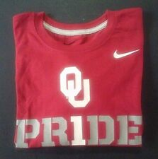 "New - Oklahoma Sooners ""#1 Pr1de"" Crimson Youth L/S T Size YS Nike MSRP $24"