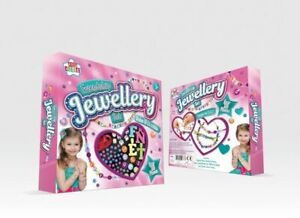 Friendship Jewelry Making Set With Bracelet 280 Alphabet & Charms Beads For Kids
