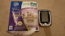 Leapfrog LeapPad Explorer Purple Tablet inc Scooby Doo game and downloads