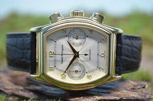 Girard-Perregaux Richeville 18k Gold Automatik Chronograph, UNGETRAGEN, Ref 2750