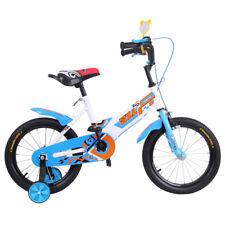16'' Blaue Fahrrad Jungen Kinderfahrräder Stützräder Jungenfahrrad Kinderfahrrad