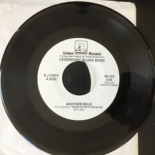 Legendary Blues Band - Another Mule PROMO 45  RARE  Ichiban  NM