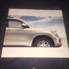 2008 Toyota Sequoia Suv Usa Market Original Brochure Prospekt