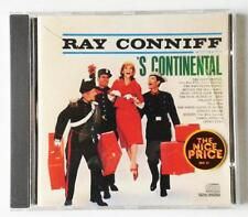 RAY CONNIFF S CONTINENTAL COLUMBIA/CBS RECORDS ORIGINAL CD - EXCELLENT USED 1990