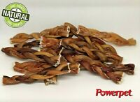 "Braided Bully Stick 6""- All Natural Dog Chew Treat- FDA and USDA Approved-BRC"