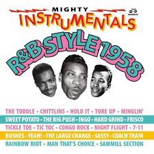 MIGHTY INSTRUMENTALS R&B-STYLE 1958  2 CD NEUF