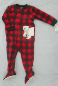 Infant, Toddler & Boys $20 Carter's Assorted Fleece Sleepers Sizes 12M - 7