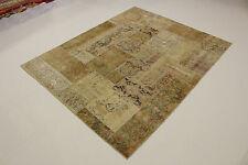 Modern Patchwork Stone Wash Antik Look Perserteppich Orientteppich 2,52 X 2,02