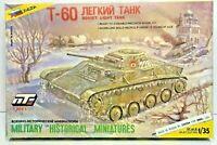 Soviet Light Tank Zvezda Model Kit Scale 1:35 T 3501