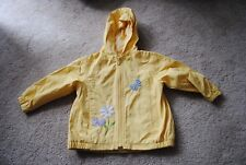 NEW LEGENDS Rain Wind Jacket Girls ~ Size 3 3T ~ Yellow