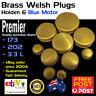 New Brass Welch Welsh Freeze Core Plug Set Kit Fits Holden 6 Blue Motor 80-86