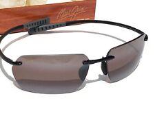 NEW* Maui Jim Alaka'i POLARIZED Sunglasses Titanium Rose mala R743-02 Rimless
