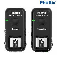Phottix Strato II Multi 5 en 1 conjunto de disparo de flash inalámbrico para Sony