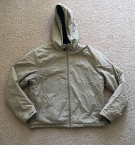 New Balance Women's Tan Puffer Jacket Fleecey Inside Size 14