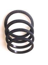 10mm thick-Focus aid /Seamless Follow Focus lens gear ring diameter 10 to 110 mm