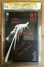 Dark Knight III: The Master Race #1 Miller Kubert Janson Azzarello X4 CGC SS 9.8