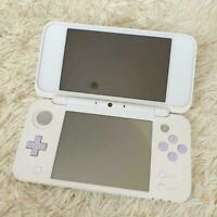 Used Nintendo 2DS LL White × Lavender Japan game Console only