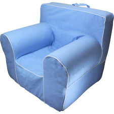 INSERT FOR POTTERY BARN ANYWHERE CHAIR WITH LIGHT BLUE COVER FITS REGULAR SIZE