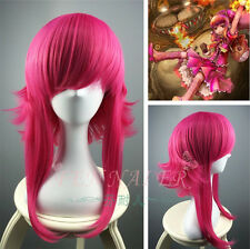 LOL League Legends Annie COS wig Long Pieces of red Cosplay Anti- Alice Hair Wig