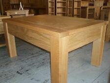 Unbranded Less than 60cm High Oak Rectangle Coffee Tables