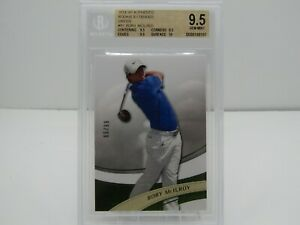 RORY McILROY 2014 SP AUTHENTIC ROOKIE EXTENDED GREEN #65/99 BGS 9.5- GOLF!!