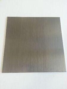 """1/8"""" .125 Aluminum Sheet Plate 4"""" x 8"""" 6061"""