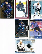 TODD BERTUZZI Insert/SP CARD LOT + RC's & Double Sided Jersey!