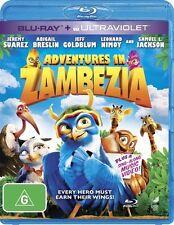 Adventures in Zambezia : NEW Blu-Ray