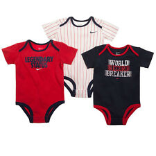 Nike 3-pk. Bodysuits Baby Boys 3pc Sports Themes Athletic 6-9M 6 9 Months NEW