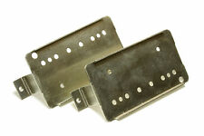 Humbucker Nickel Silver 49.2mm pole spacing baseplates 2 pk NEW VERSION
