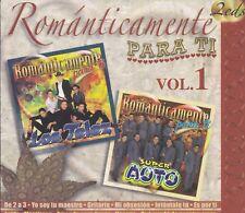 Los Telez y Super auto Romanticamente Para ti 2CD New Nuevo Sealed