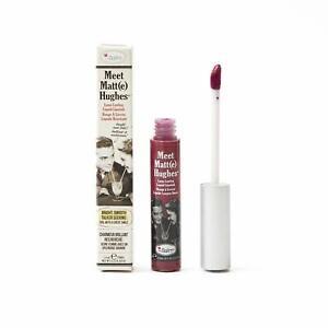 theBalm Meet Matt(e) Hughes Liquid Lipstick 6.5 ml Brand New Shade Dedicated